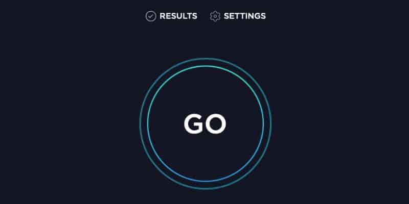 Speedtest interfaz
