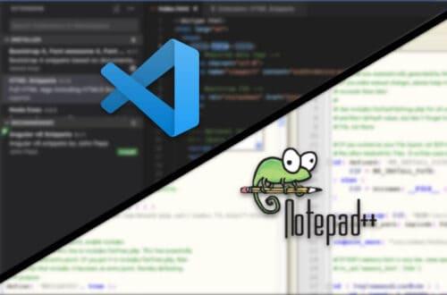 Visual Studio Code vs Notepad++